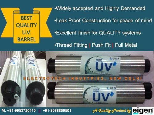 UV Barrels Eigen  Water