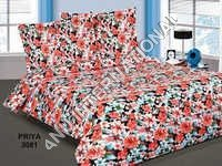 Cotton Floral Printed AC Quilt