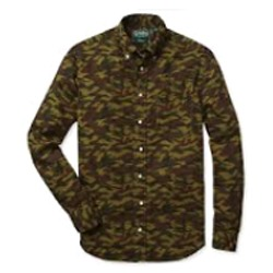 Army Camo Printed Fabric