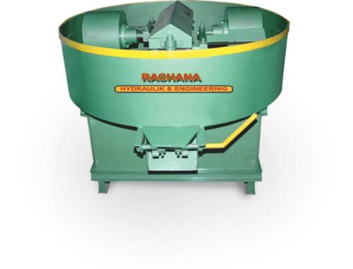 Pan Mixer Machine Roller Type