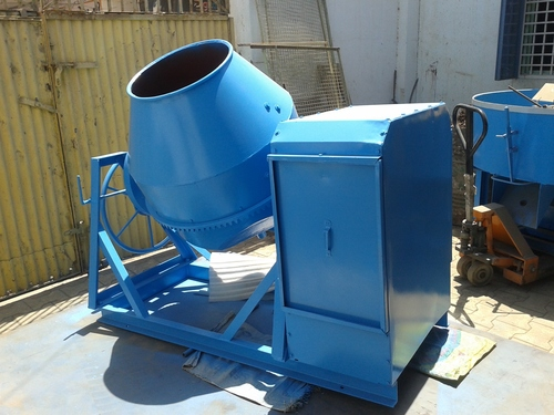 Color And Concrete Mixer Machine