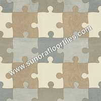 Designer Matt Floor Tiles