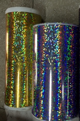 Multi Coloured Holographic Films