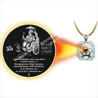 Shani Dev Shree Yantra Pendant