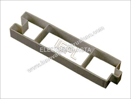 Extruded PVC profile