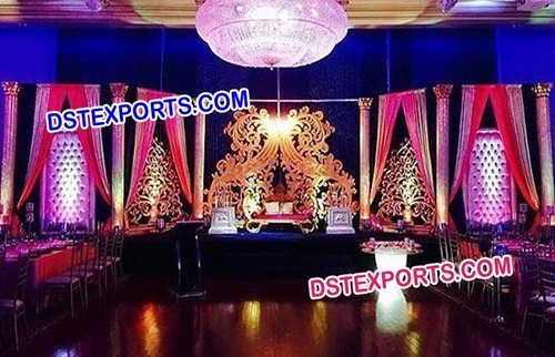 Latest Wedding Stage Backdrop Walls