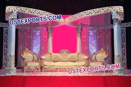Stylish Wedding Butterfly Mandap Set