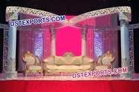 Stylish Wedding Butterfly Mandap Set