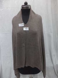 Woolen Knitted Natural color Poncho