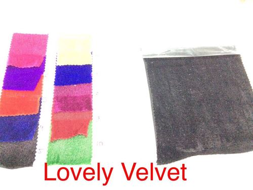 Lovely Velvet Blouse piece fabrics