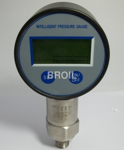Digital Pressure And Temperature Gauge