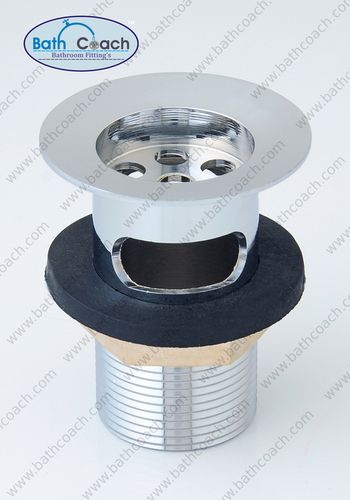 Brass CP Half Thread Waste Coupling