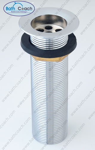 Brass Cp Long Waste Coupling
