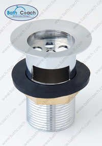 Brass Half Thread Waste Coupling