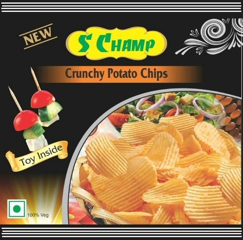 Potato Chips Packaging Pouch
