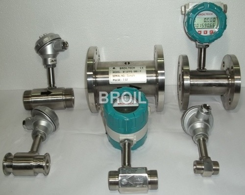 Turbine Flow Sensor Fully Stainless Steel