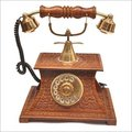 Antique Wooden Phone