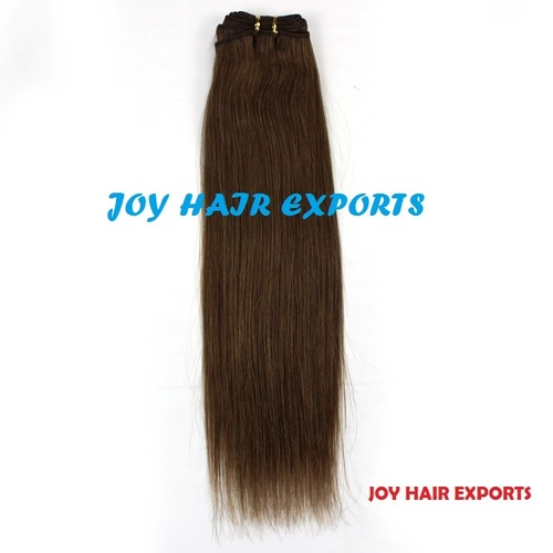 Brown Straight weft