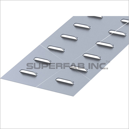 Cable Tray Cover Louvered Plain