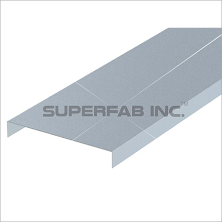 Cable Tray Cover Solid Flanged