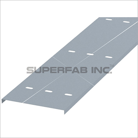 Cable Tray Cover Ventilated Flanged