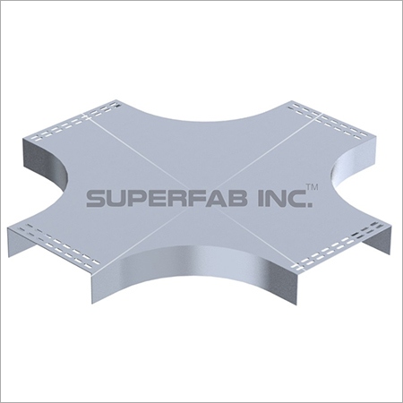 Cable Tray Cover Horizontal Cross