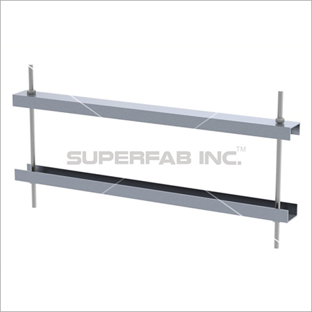Cable Tray Double Clamp Connector