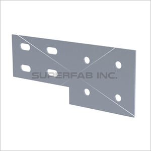 Cable Tray Straight Coupler