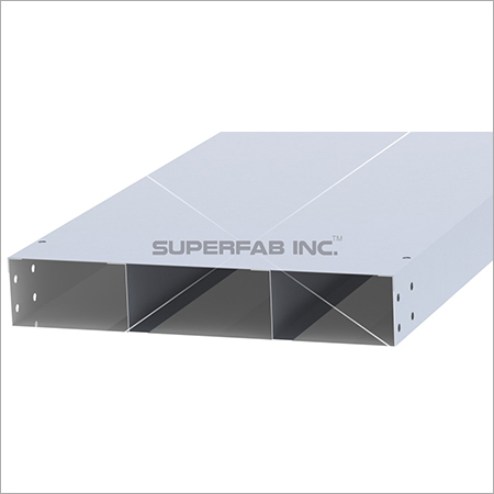 Cable Trunking Three Compartment