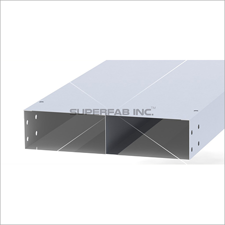 Cable Trunking Two Compartment