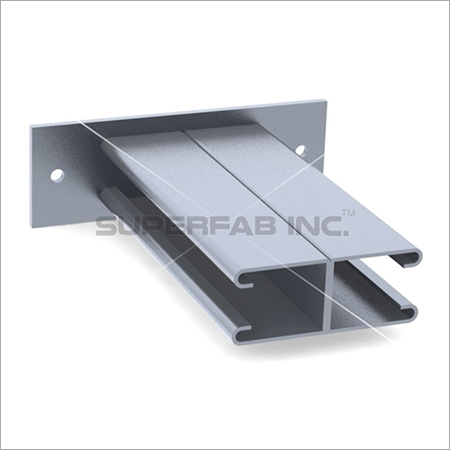 Channel Bracket Ceiling Double 41x41
