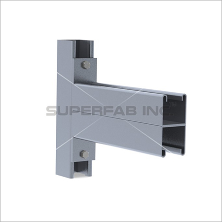 Channel Bracket Double 41x41