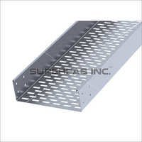 Perforated Cable Tray Return Flange Inside