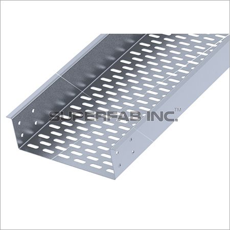 Perforated Cable Tray Outside Flange