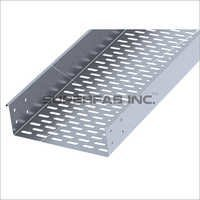 Perforated Cable Tray Return Flange Outside