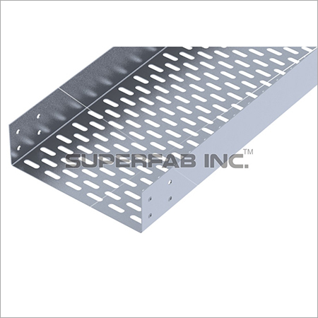 Perforated Cable Tray Straight Flange