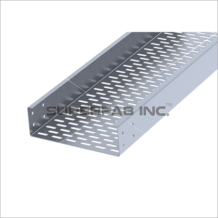 Perforated Cable Tray Inside Flange