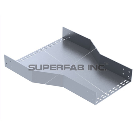 Perforated Cable Tray Reducer Center