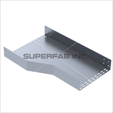 Perforated Cable Tray Reducer Left
