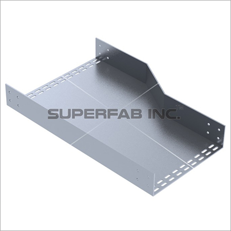 Perforated Cable Tray Reducer Right