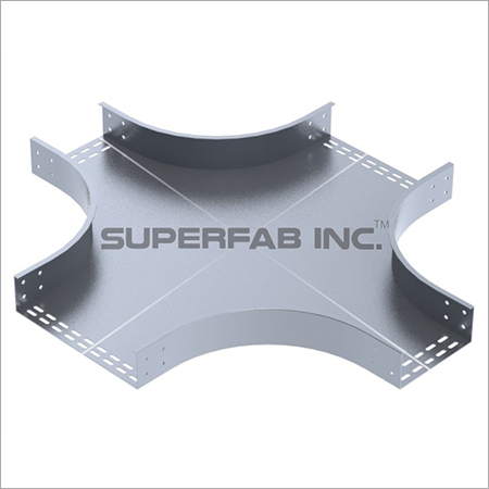 Perforated Cable Tray Unequal Cross