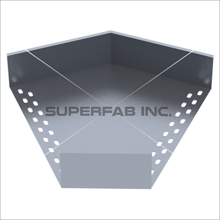 Perforated Cable Tray Elbow 45