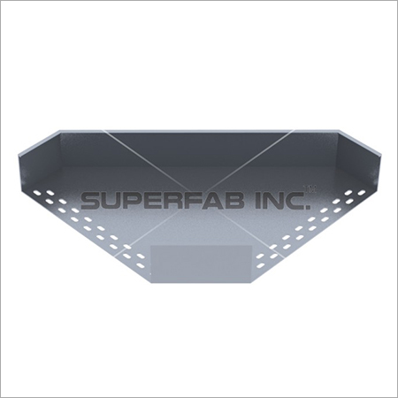 Perforated Cable Tray Elbow 90