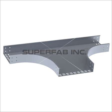 Perforated Cable Tray Horizontal Dividing Tee