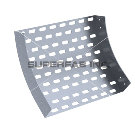 Perforated Cable Tray Inside Riser 45