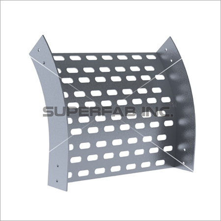 Perforated Cable Tray Outside Riser 45