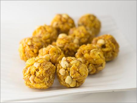 Sweet Corn Ladoo
