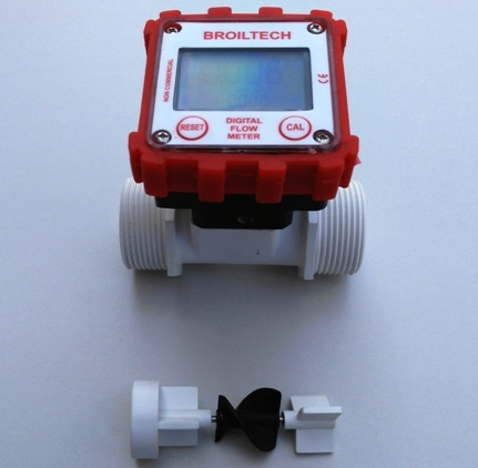 Water Flow Sensor And  Meter