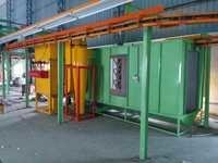 Powder Coating Booth After Recovery Type