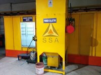 Powder Coating Booth with Cartridge Filter